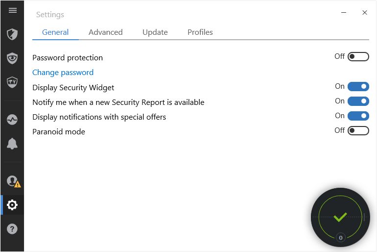 security-widget