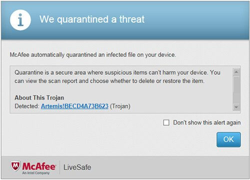 McAfee Antivirus Plus 2019 review | LiveSafe Security