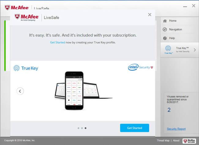 McAfee Antivirus Plus 2019 review | LiveSafe Security